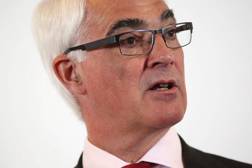 Alistair Darling Speaks On The Benefits Of The EU Single Market
