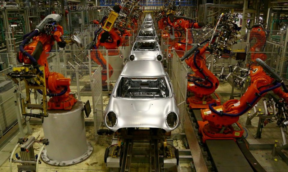 BRITAIN-GERMANY-ECONOMY-MANUFACTURING-BMW-MINI