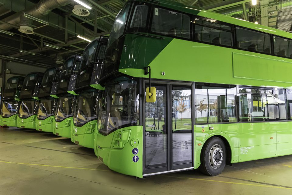 The government is set to announce plans for the UK's first hydrogen bus only town, transport secretary Grant Shapps revealed today.