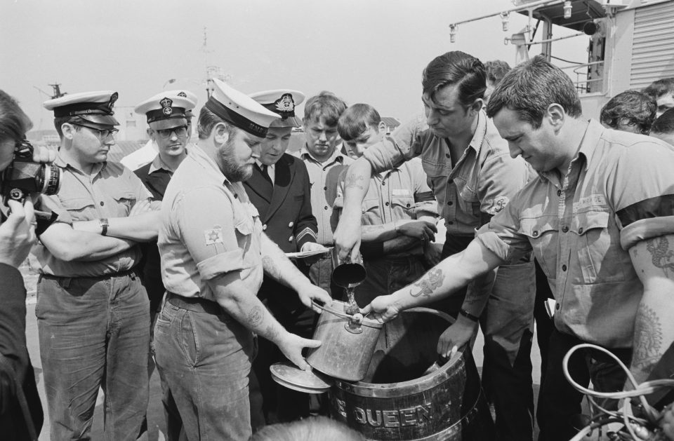 Navy Rum Rations