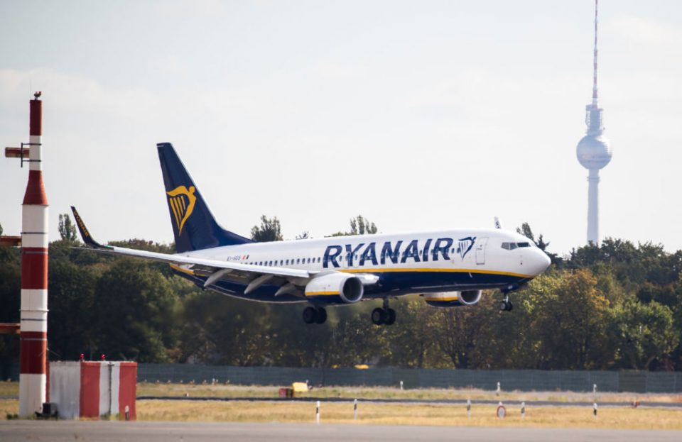 Ryanair today said it will cut its flight capacity 20 per cent during September and October after increased coronavirus restrictions hit bookings.