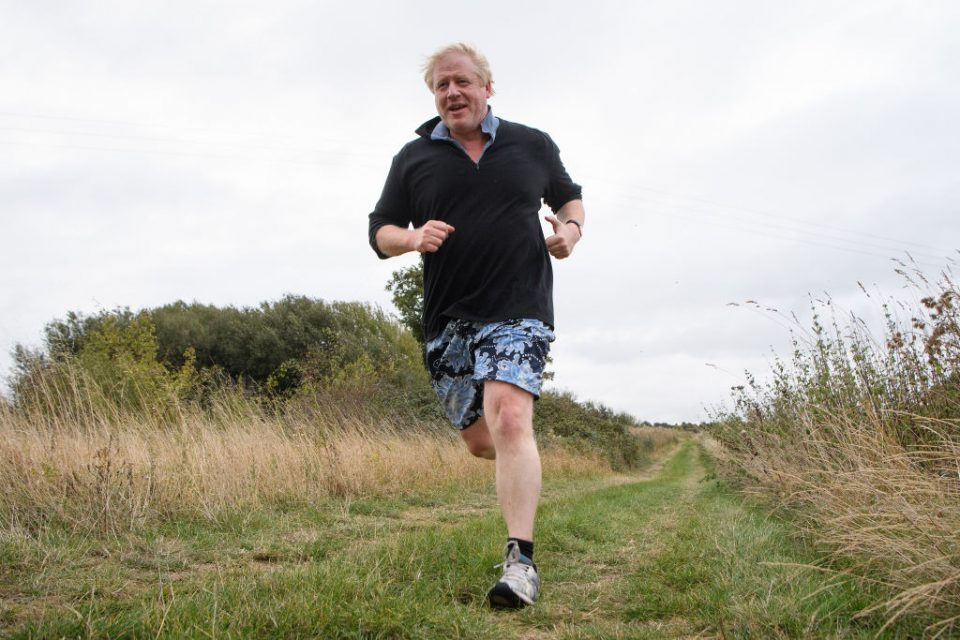 Boris Johnson Leaves Home To Speak At A Conservative Party Conference Fringe Meeting