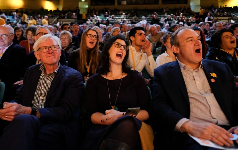 Vince Cable Delivers His Leader's Speech At Liberal Democrat Conference