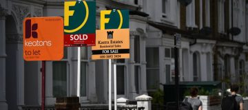 UK house prices rebound sharply after stamp duty cut