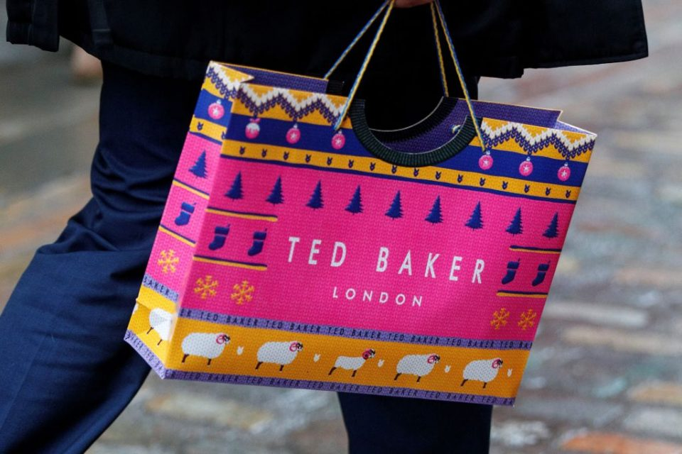 BRITAIN-RETAIL-FASHION-DIRECTORS-BUSINESS-TED BAKER