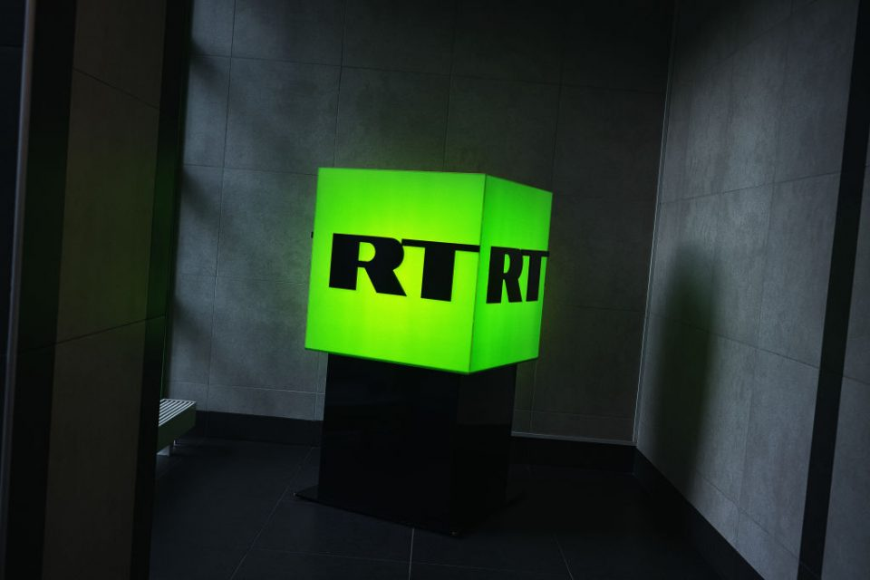 Inside RT Studios In Moscow