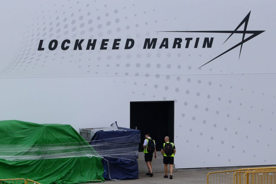Lockheed Martin looks set to be slapped with sanctions by China for its role in providing arms to Taiwan,