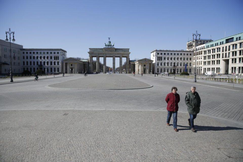 German economy shrinks at record rate as coronavirus bites