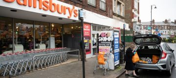 Grocer Sainsbury's today said that total first quarter sales increased by 8.5 per cent as the supermarket beat expectations despite the coronavirus pandemic.