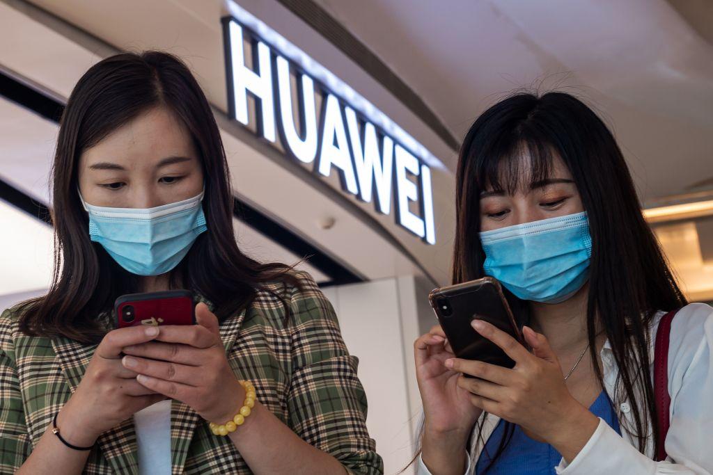 CHINA-US-POLITICS-TRADE-TELECOM-HUAWEI