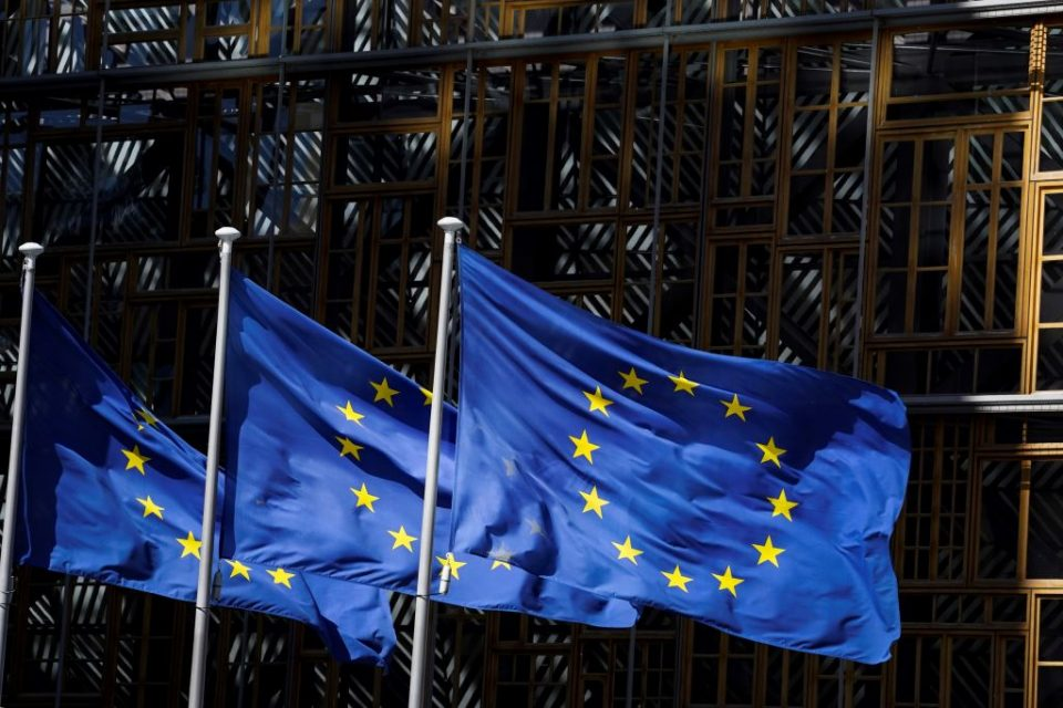 The Eurozone economy shrank by 12.1 per cent in the second quarter following the impact of the coronavirus pandemic, according to figures released today.