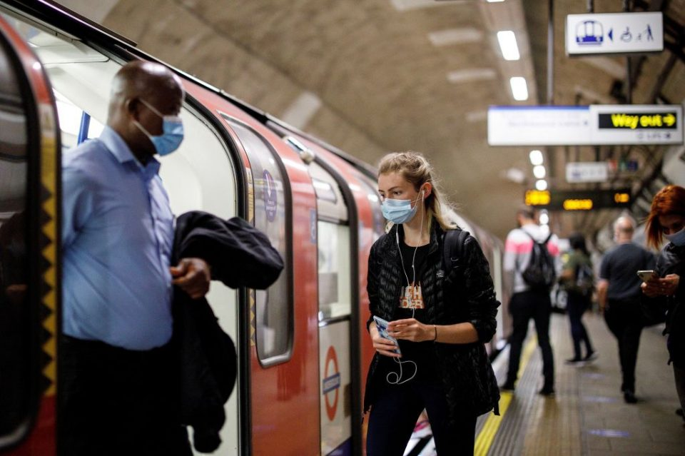 Transport for London enforcement officers have so far stopped 33,500 people from getting on public transport unless they put on face masks, according to the latest figures.