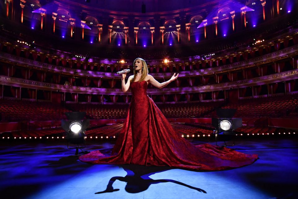 Katherine Jenkins VE Day 75 Performance At The Royal Albert Hall