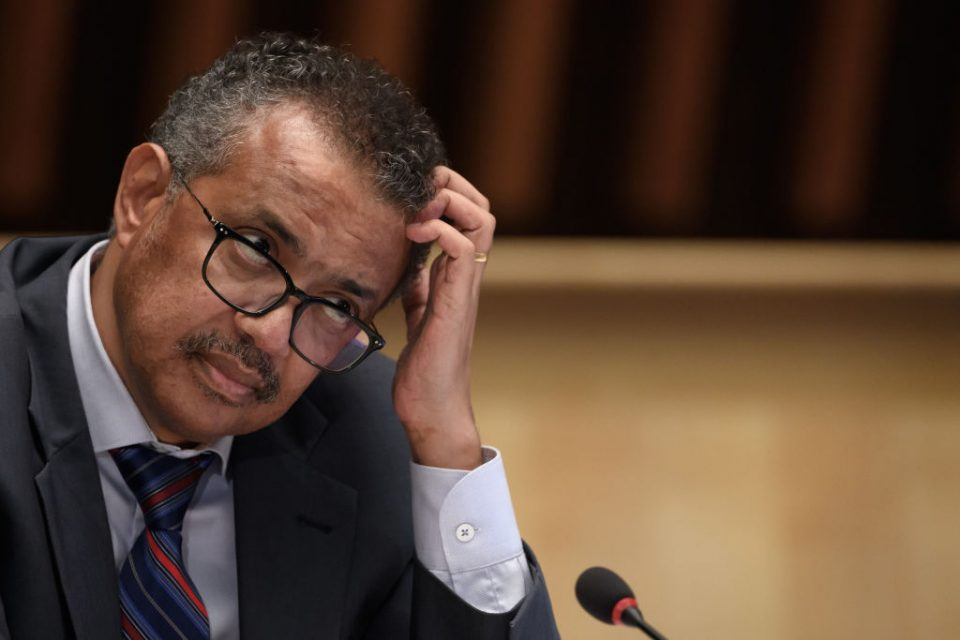Coronavirus is not under control across the majority of the world, and is actually getting worse, according to the head of the World Health Organisation (WHO) Dr Tedros Adhanom Ghebreyesus.