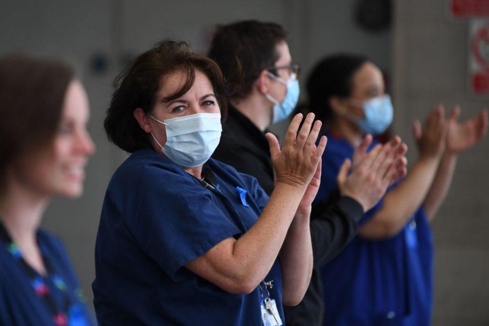 BRITAIN-HEALTH-CLAP-NHS-ANNIVERSARY