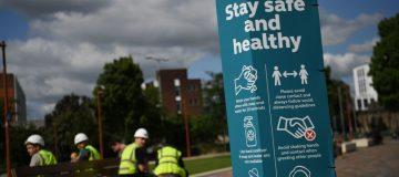 UK records another 816 positive coronavirus cases