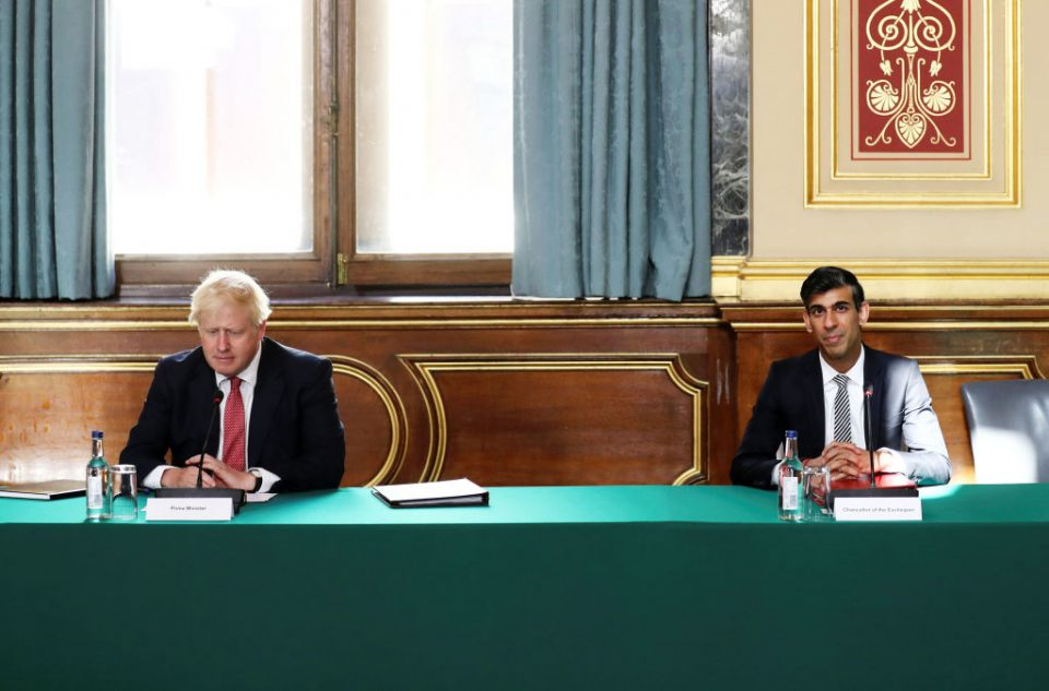First Physical Meeting Of UK Cabinet Since Coronavirus Lockdown