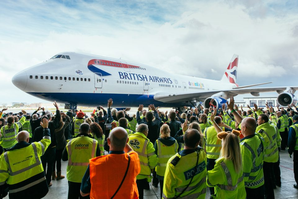 British Airways' Boeing 747 (credit: British Airways)
