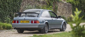 Fast Ford icon: Rare Sierra RS Cosworth heads to auction