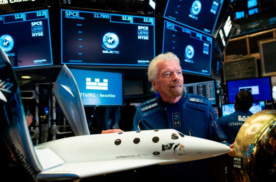 Sir Richard Branson, the billionaire founder of private spaceflight firm Virgin Galactic, will be one of the first to go into space in one of his company's rockets, it has been revealed.