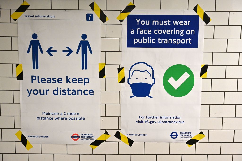 TfL has deployed more than 1,000 hand sanitiser stations around London's Tube network as they prepare for people to return to work and socialise in the city