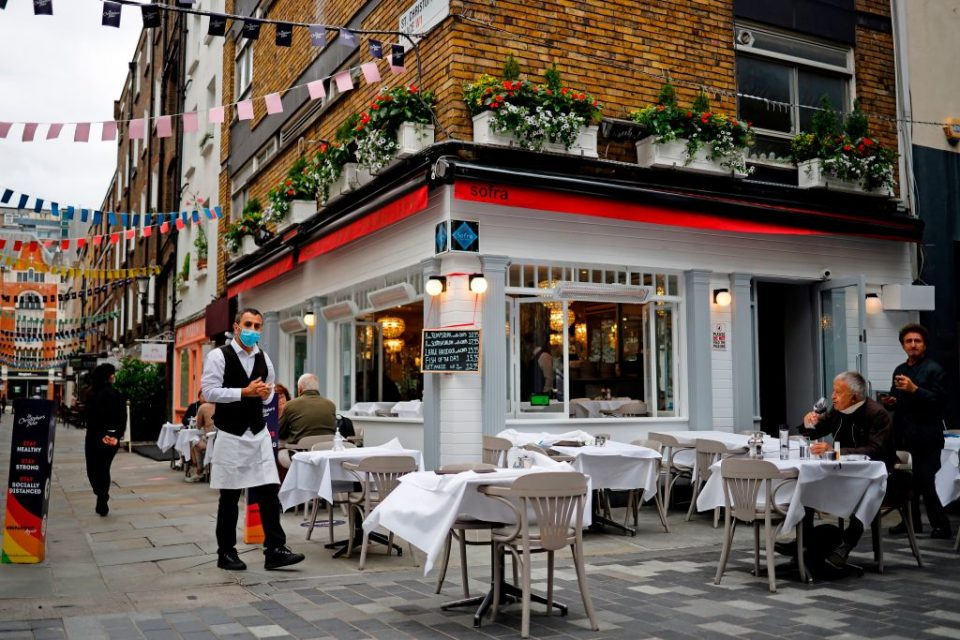 London restaurants have urged mayor Sadiq Khan to drop the congestion charge and encourage people to visit the capital on public transport in a bid to survive after the end of lockdown