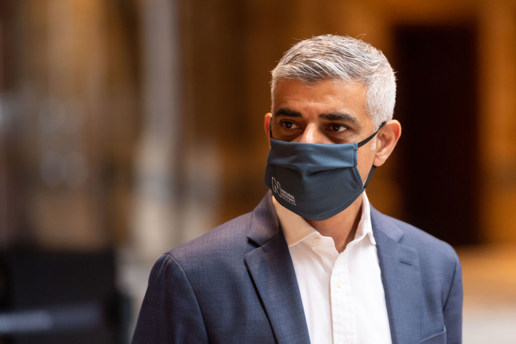 Sadiq Khan says it is 'absolutely vital' people visit London's hospitality firms but said public confidence in their safety must first return