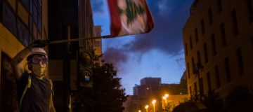 One year on from the Beirut explosion, but now it's the economy in tatters