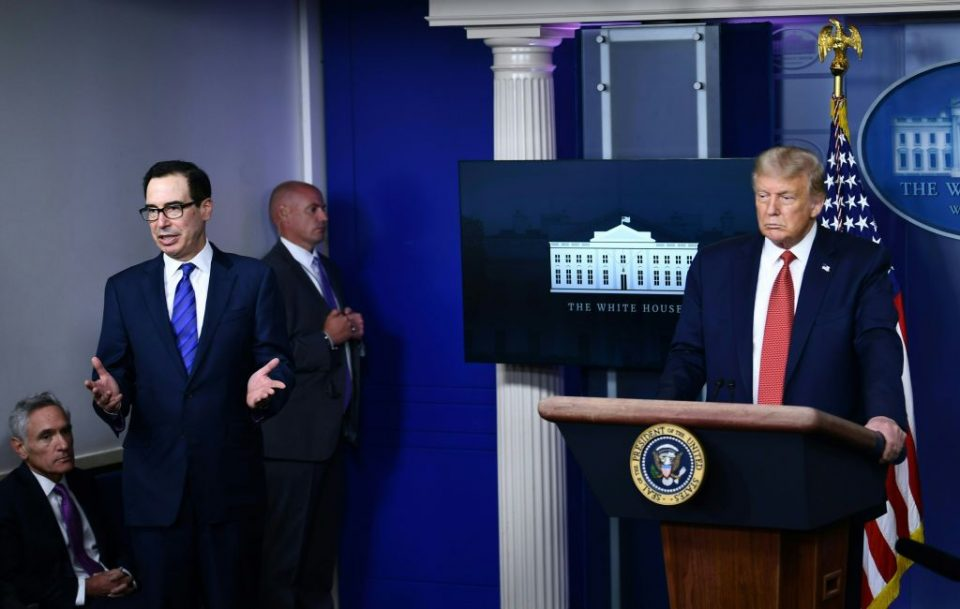 Secret Service officers abruptly escorted President Donald Trump out of a live press briefing after a shooting occurred outside the White House yesterday.
