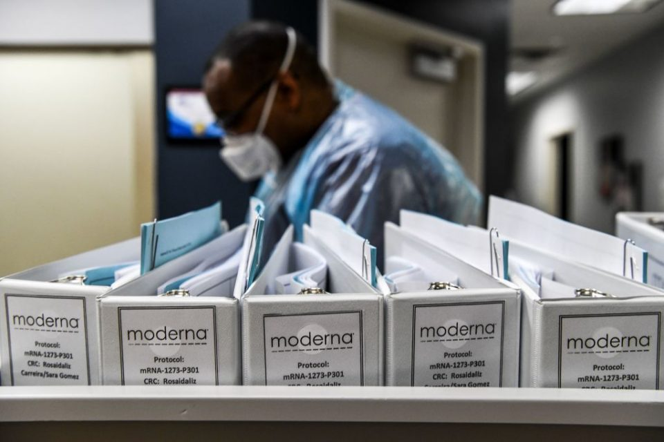 US drugs firm Moderna today announced that it had concluded initial talks with the European Union to supply 80m doses of its potential coronavirus vaccine.