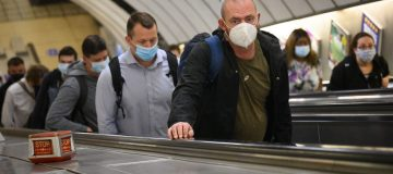 Protective Face Masks Become Mandatory On London Transport