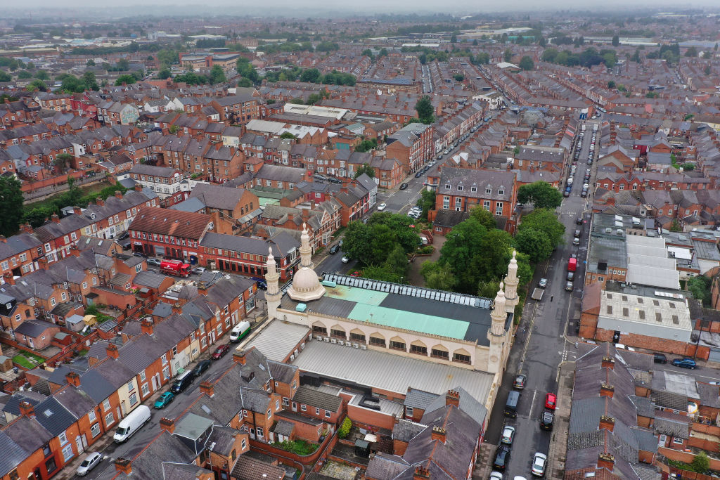 Leicester has remained in lockdown since restrictions on England's Midlands city were extended at the end of June after a spike in infections