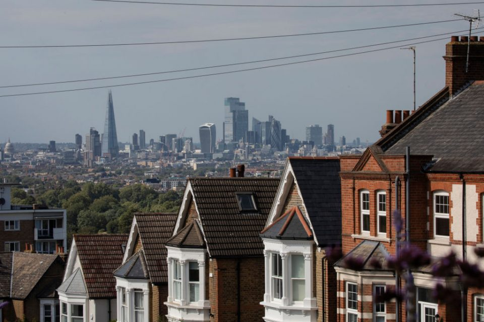 London house prices dented the UK housing market's overall value in August despite the most monthly sales in 10 years