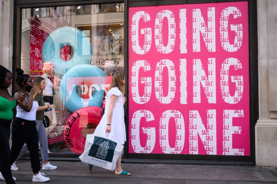 UK retail sales climbed again between June and July to surpass their pre-pandemic level