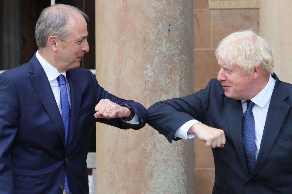 UK Prime Minister Visits Northern Ireland