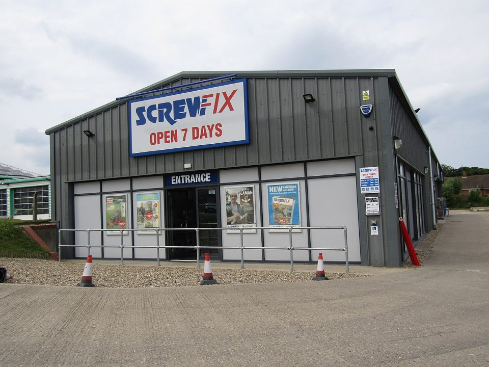 DIY tool firm Screwfix has announced that it will open 40 new stores this year, creating around 400 jobs across the UK and Ireland.