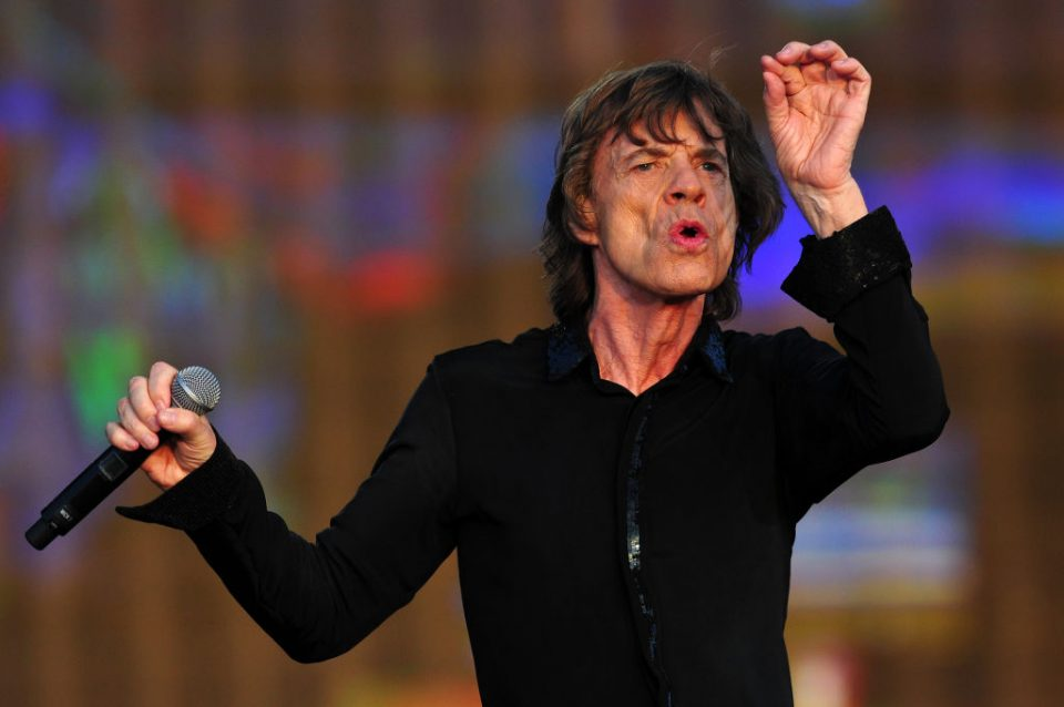 BRITAIN-MUSIC-ROLLING-STONES-JAGGER
