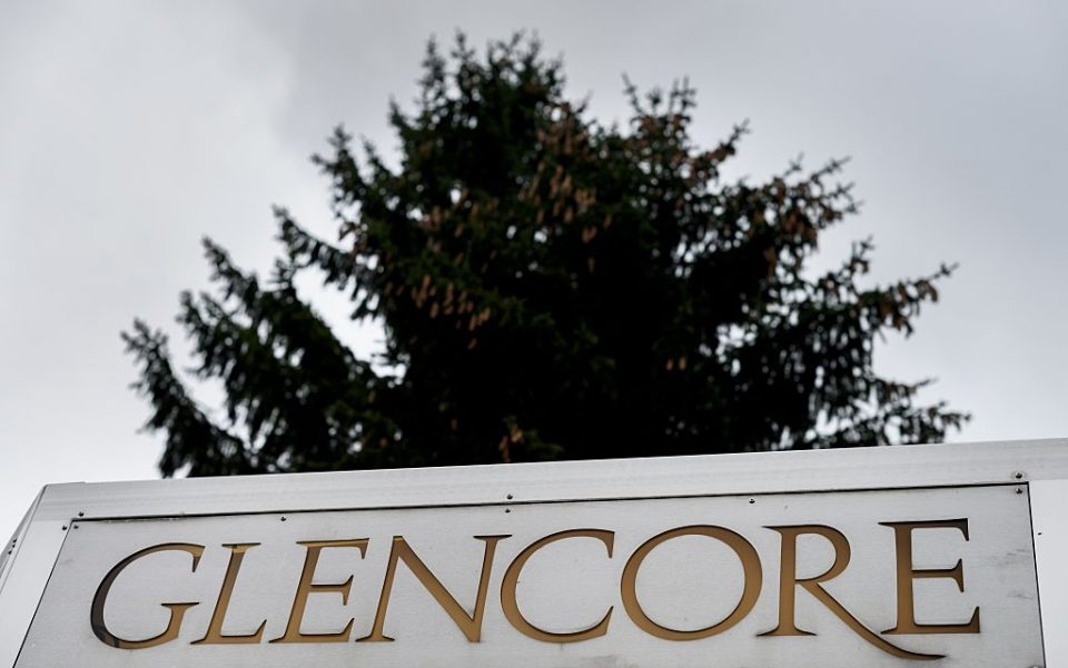 Shares in miner Glencore fell 3.8 per cent this morning after the commodities giant said that it would scrap its $2.6bn dividend to concentrate on reducing debt.