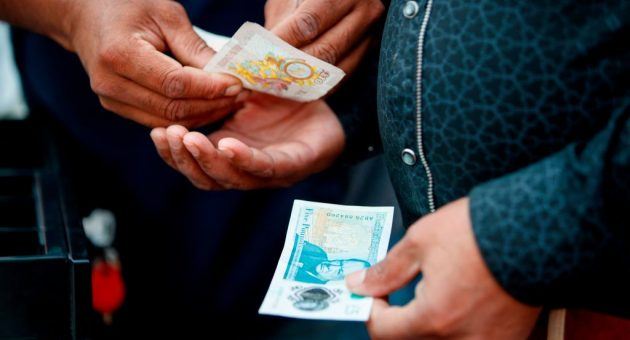 Pound slips after touching highest level since start of year