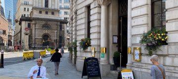 Top City restaurateur explores outdoor seating in Square Mile