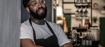 James Cochran, co-owner and executive chef at Islington's 12:51