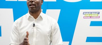 Tory mayor candidate Shaun Bailey shows off his campaign makeover