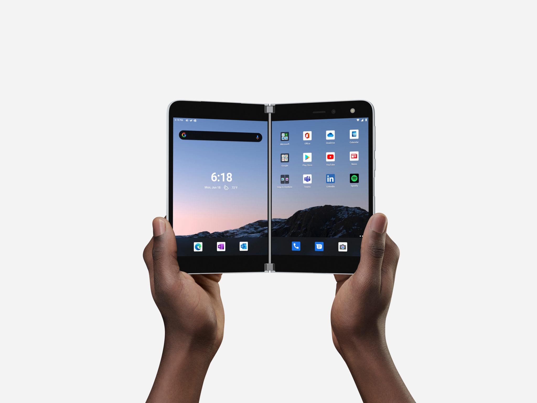 Microsoft prices folding Surface Duo phone at $1,399 - CityAM