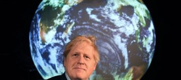 """Boris Johnson has said that the UK will  lead the world in the world in the transition to a net zero economy, saying that climate action cannot be """"another victim of coronavirus""""."""