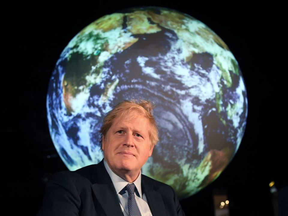 "Boris Johnson has said that the UK will  lead the world in the world in the transition to a net zero economy, saying that climate action cannot be ""another victim of coronavirus""."