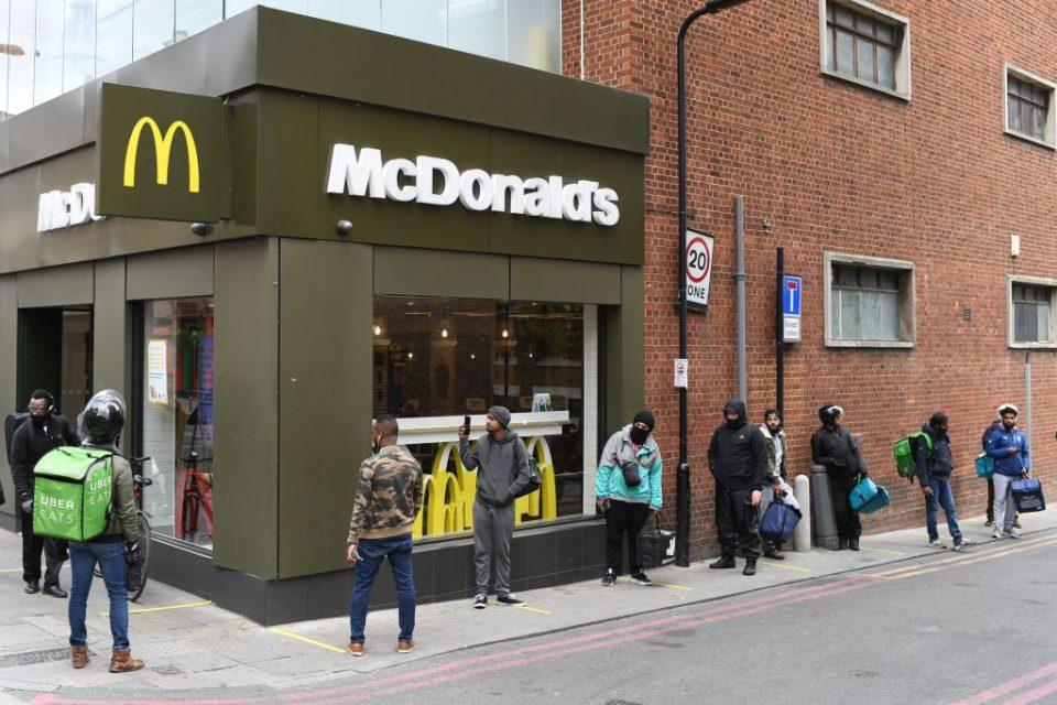 Brits ignore PM's diet plea as spending on takeaways surges