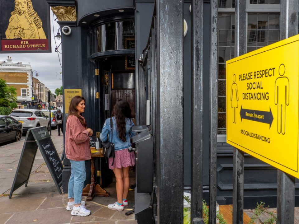 Boris Johnson will tomorrow announce that pubs in England will have to shut at 10pm in an attempt to limit the spread of coronavirus