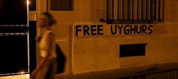 FRANCE-CHINA-RIGHTS-UIGHURS
