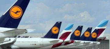 Lufthansa shares lost nearly a tenth of their value this afternoon after the German flag carrier said that it would cut more jobs on top of the 22,000 redundancies previously announced.