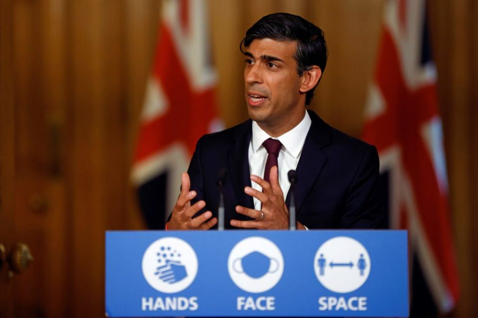 Economists this afternoon raised concerns that Rishi Sunak's new support measures could lead to a rise in unemployment as they do not encourage firms to keep employees on.